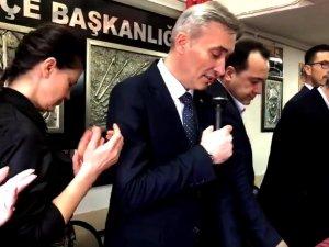 Millet ittifakı Manisa Büyükşehir Belediye Başkan Adayı Orkun Şıktaşlı, Akhisar CHP İlçe Teşkilatı ziyareti