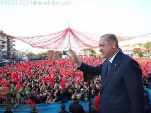 Cumhurbaşkanı Recep Tayyip Erdoğan 21 Şubat 2019 Manisa Ziyareti