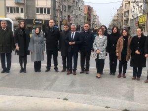 2019 vergi haftası Akhisar Milli Egemenlik Meydanı Atatürk Anıtı çelenk sunma töreni