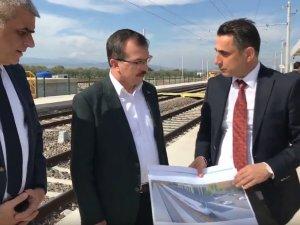 AK Parti Manisa Milletvekili Uğur Aydemir, yeni tren garı projesini açıkladı