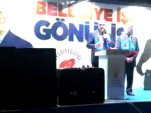 Cumhur ittifakı Akhisar Belediye Başkan Adayı Hüseyin Eryüksel, Ballıca Mahallesi mitingi