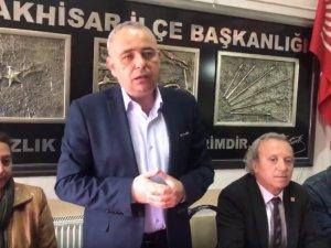 CHP Manisa Milletvekili Bakırlıoğlu zeytine verilen prim hakkında basın açıklaması yaptı
