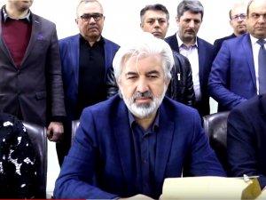 AK Parti Akhisar eski İlçe Yönetiminden Salih Hızlı'ya ziyaret