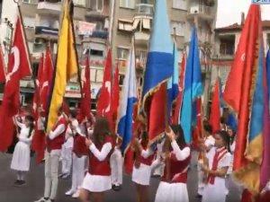 23 Nisan Ulusal Egemenlik ve Çocuk Bayramı çelenk sunma ve Gazi okulu resmi programı