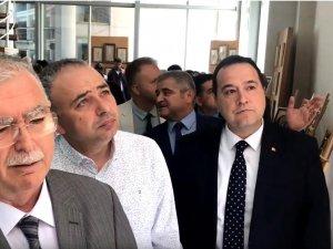ASDER Akhisar Dört Yapraklı Yonca isimli karma sergi açıldı