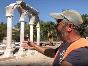 Akhisar Belediyesi Thyateira, Tepe Mezarı, Sürunlu Yol Çalışmalarında son durum