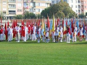 Akhisar'da 29 Ekim Cumhuriyet Bayramının 96.yılı coşkuyla kutlandı