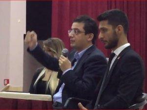CHP İstanbul Milletvekili Doç. Dr. Yunus Emre, Akhisar'da Cumhuriyet Bayramında konferans verdi