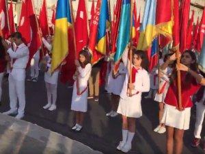 10 Kasım Atatürk'ü Anma Günü Çelenk Sunma Töreni