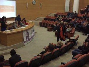 Kadına ve Kız Çocuklarına Yönelik Şiddete Hayır paneli