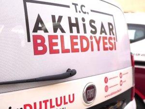 Akhisar Belediyesi, yeni araçlarını tanıttı