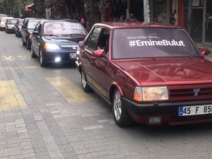 Akhisar Modifiye Clup üyeleri Kadın Şiddetine farkındalık için araç konvoyu yaptı