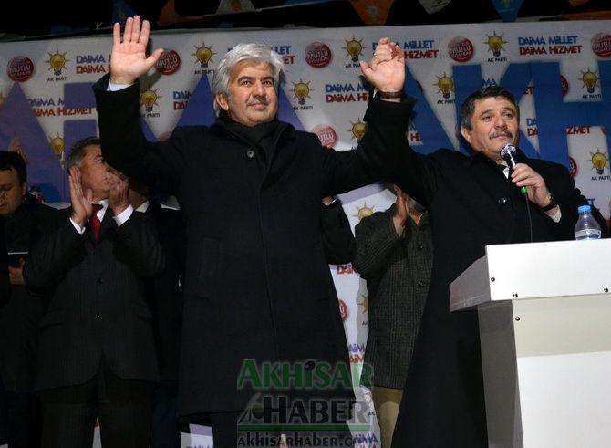 Başkan Adayı Salih Hızlı, Bakan Işık ile Ballıca'da Miting Yaptı