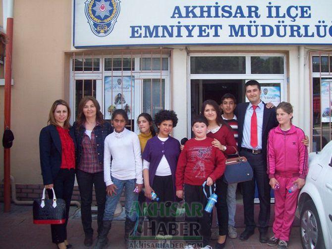 Özel Eğitim Uygulama Merkezi, Polis Haftası Etkinliklerinde Ziyaretlerde Bulundu